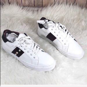 Steven by Steve Madden White Leather Sneakers 8